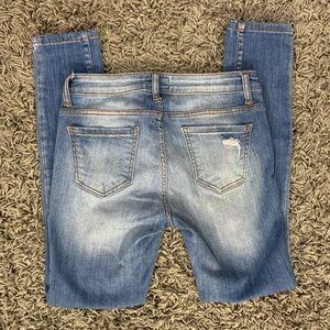 Denim Blvd Los Angeles Jeans - Light Wash Mid Rise Jeans